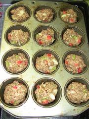 Turkey Meatloaf Muffins After