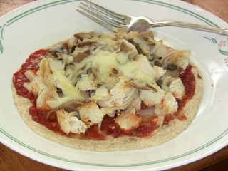 Chicken Pita Pizza