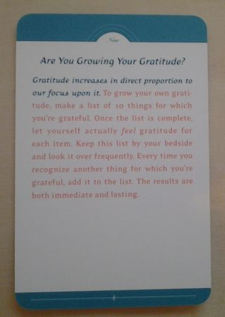 Are you growing your gratitude