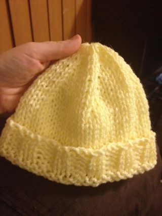 Yellow Baby Hat